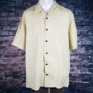 Carribbean Shirts - Caribbean Pure Silk Camp Shirt XXL